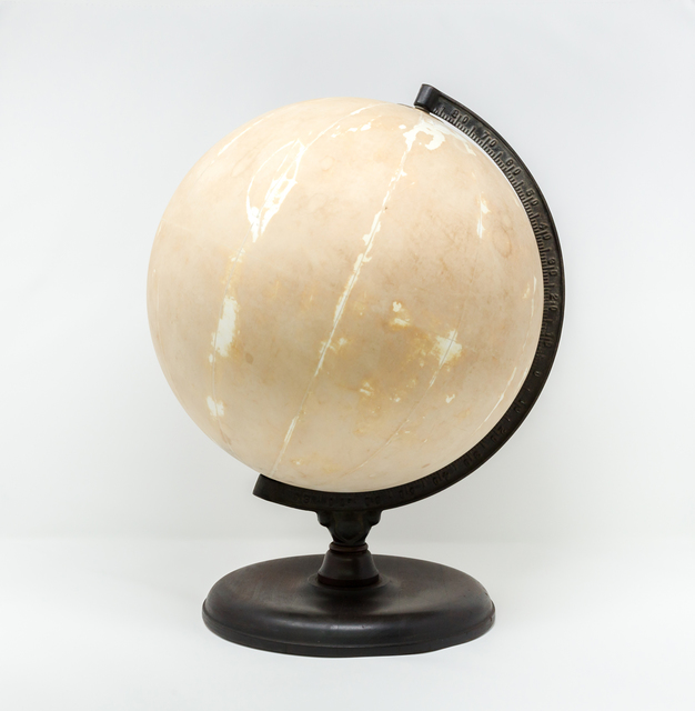 Agustina Woodgate, 'Untitled (World Globe)', 2019, Sculpture, Hand-sanded vintage world globe, Spinello Projects