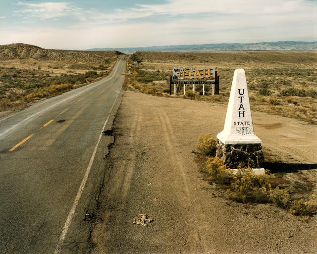 , 'Utah and Colorado state line, Highway 50; October 16, 1982,' , photo-eye Gallery