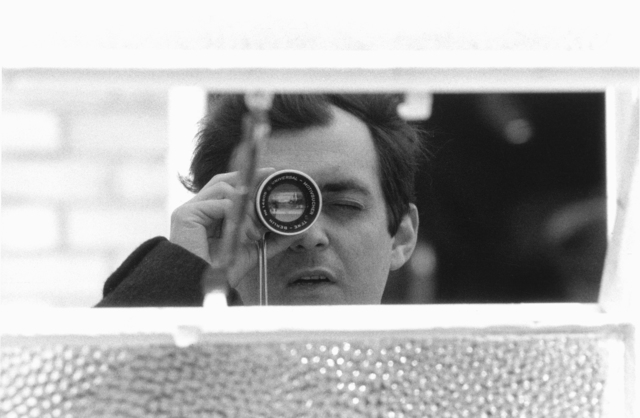 , 'Stanley Kubrick with his viewfinder during the production of Lolita,' 1960-1962, Contemporary Jewish Museum
