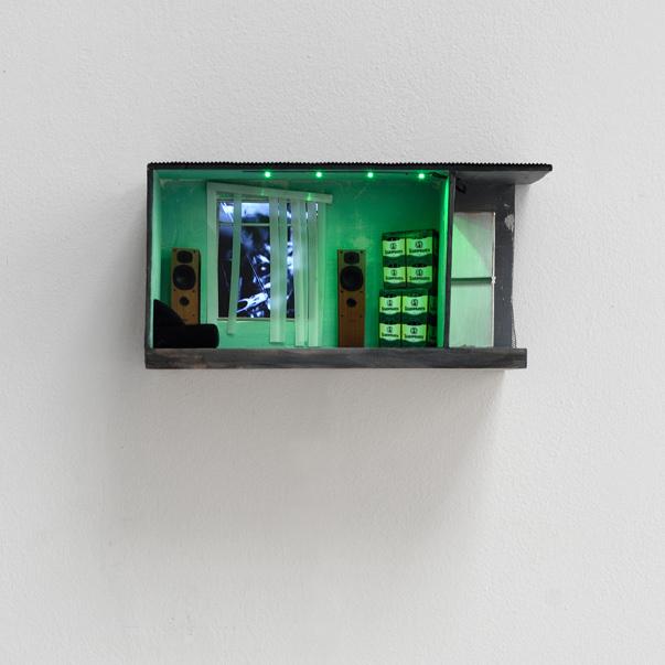 , 'Green Bar,' 2016, Studio la Città