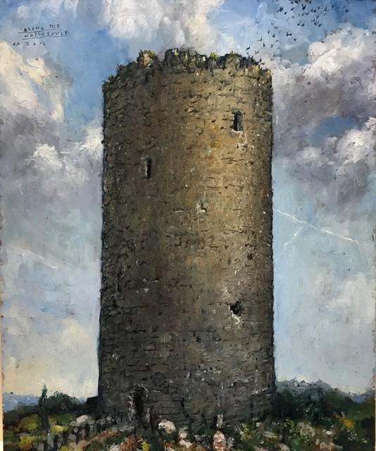 , 'All Along the Watchtower,' 2017, Catharine Clark Gallery