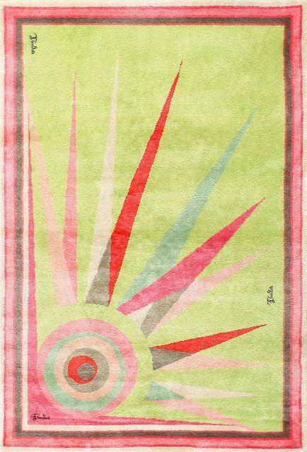Emilio Pucci, 'Mid Century Art Deco Rug', ca. 1960, Nazmiyal Collection