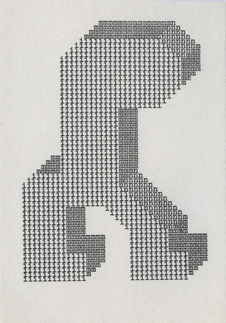 , 'Punky 1  ,' ca. 1970, ChertLüdde