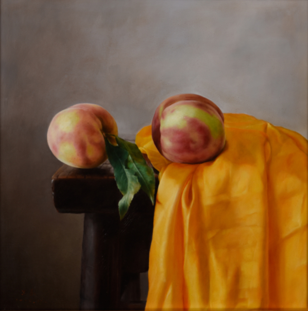 Weidong Wang, 'Still Life With Two Peaches', 2015, Odon Wagner Gallery