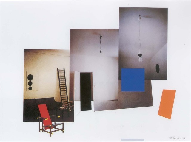 Richard Hamilton, 'Interior with monochromes,' 1979, Alan Cristea Gallery