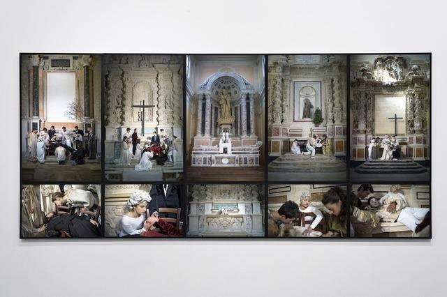 , 'Atto unico sulla morte in cinque compianti,' 2012, GALLERIA BIANCONI