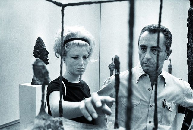 , 'Monica Vitti and Michelangelo Antonioni at the Venice Biennale (La Biennale di Venezia) ,' 1962, EYE Film Institute Netherlands