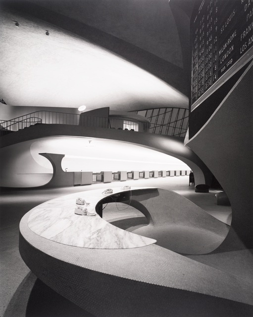 , 'Eero Saarinen, TWA Terminal, New York International (now John F. Kennedy International) Airport, New York,' 1962, San Francisco Museum of Modern Art (SFMOMA)