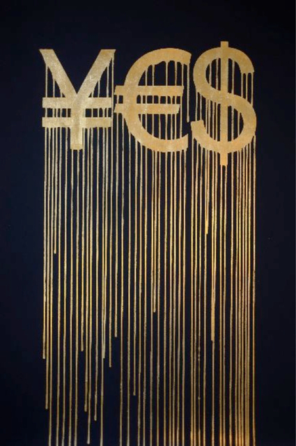 , 'Liquidated YES,' 2012, Taglialatella Galleries