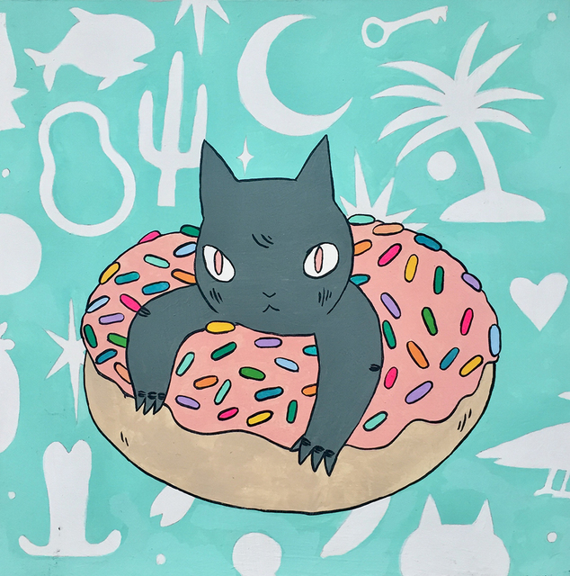 , 'Donut Cat,' 2018, Spoke Art