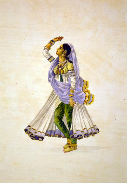 , 'Lady Dancer,' , Swaraj Art Archive