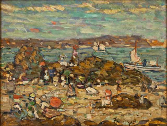 , 'Studies St. Malo, No. 27,' 1907, Adelson Cavalier Galleries