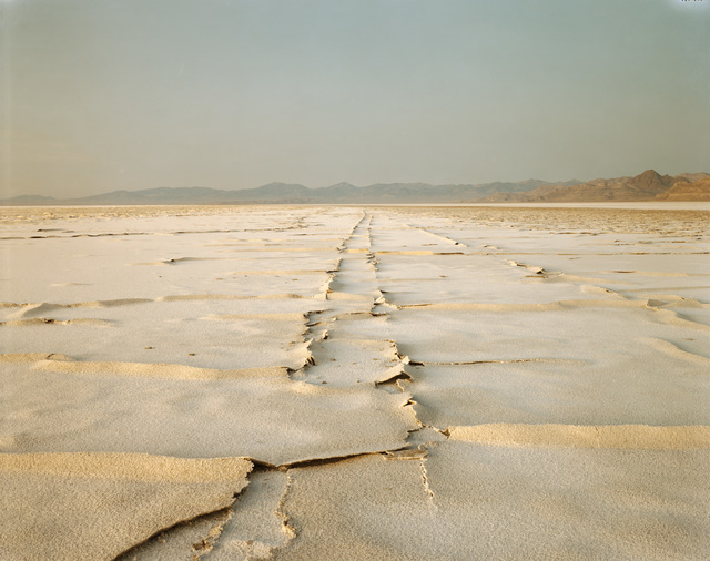 Richard Misrach, 'Encrusted Tracks, Bonneville Salt Flats, Utah', 1992, Pace/MacGill Gallery