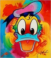 Peter Max, Disney Suite: Donald Duck