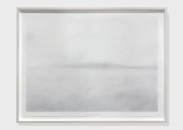 , 'Fog (Penobscot Bay),' 2017, Rhona Hoffman Gallery