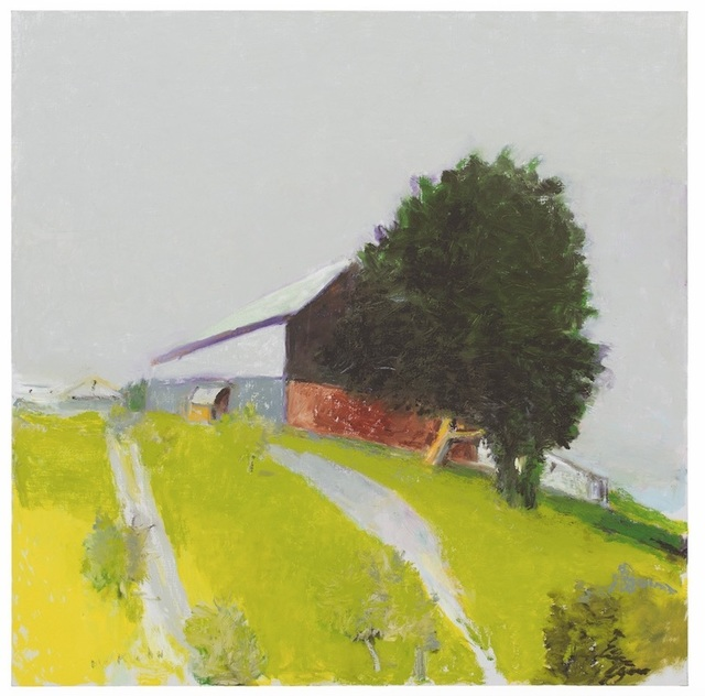 , 'Winchester Barn,' 2015, Tayloe Piggott Gallery
