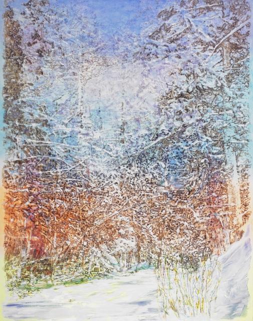 , 'frozen creek,' 2017, Ben Brown Fine Arts