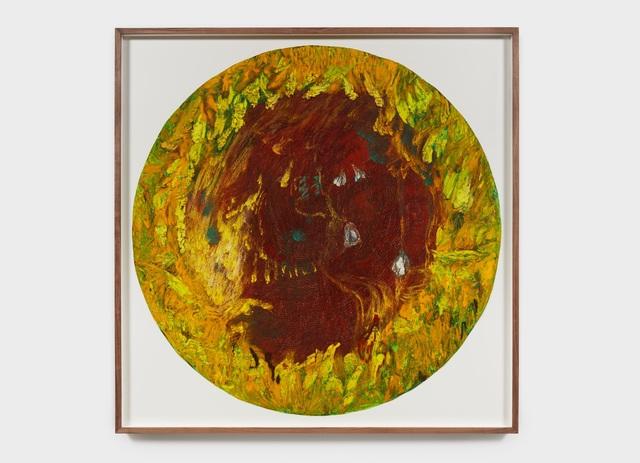 Mimi Lauter, 'Sunflower', 2015, Painting, Soft Pastel, Oil Pastel on Paper, Aspen Art Museum Benefit Auction