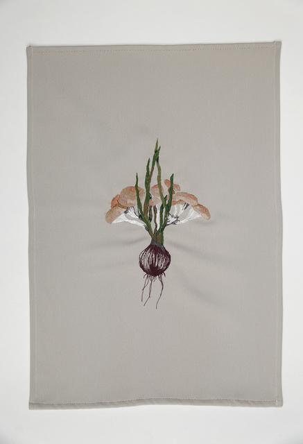 , 'A quimera das plantas [O shimeji e a cebola rôxa],' 2016, Galeria Nara Roesler