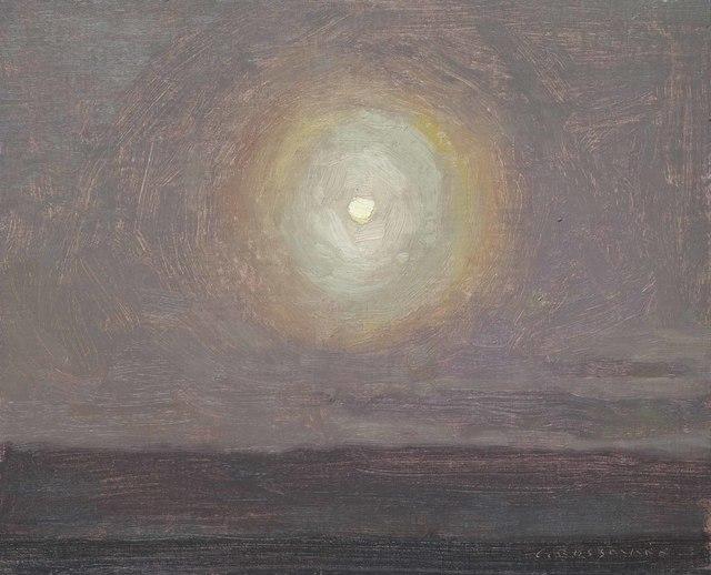 , 'Moon Halo,' 2018, Jonathan Cooper