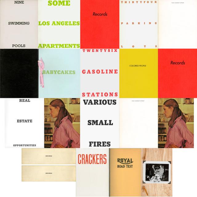 , '20 artist books by Ed Ruscha,' 1963-1978, Gagosian