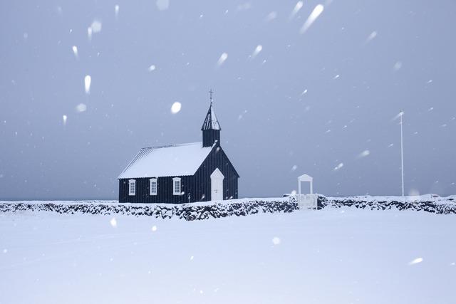 , 'Black Church, Búðir,' 2012, Robert Mann Gallery