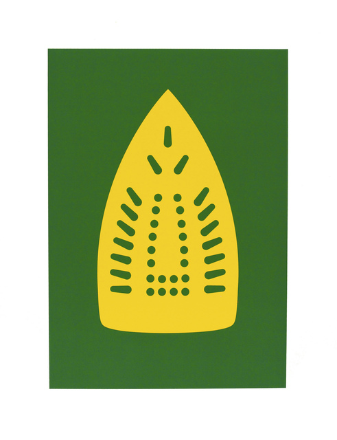Willie Cole, 'Complementary Soles (Yellow/Green)', 2012, Highpoint Editions