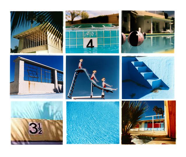 , 'Dream in Colour - Pool Installation,' 2000-2002, Bleach Box