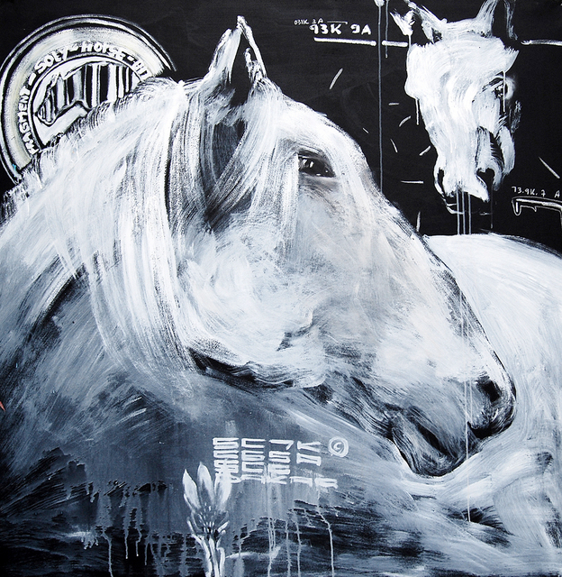 , 'Untitled Horse B,' 2007, EBONY/CURATED