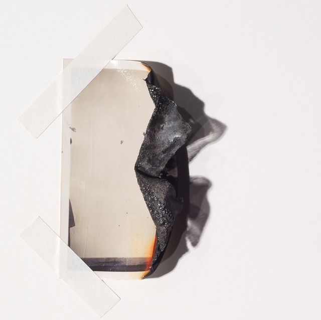 """Fatemeh Baigmoradi, 'Untitled, from the series """"It's Hard to Kill""""', 2017, Photography, Burned photographic print, Laurence Miller Gallery"""