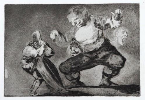 , 'Tras el Vicio Vene el Fomicio,' ca. 1816, Brook Gallery