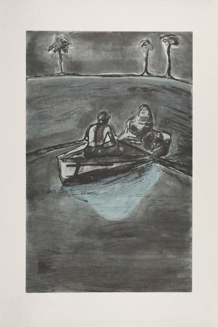 , 'Two People at Night (indigo),' , Galerie Boisseree