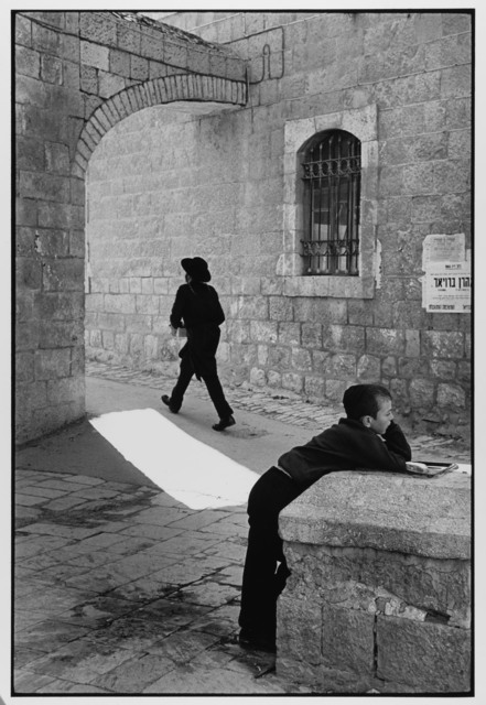 , 'Man Rushes, Child Doesn't Jerusalem, Israel ,' 1967, Gallery 270