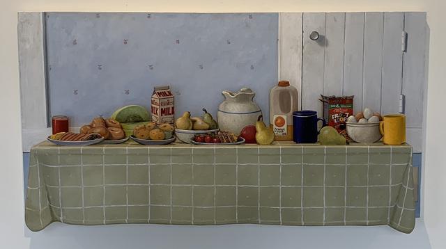 Eric Forstmann, 'A Moveable Breakfast', 2015/2020, Painting, Oil on board, Eckert Fine Art