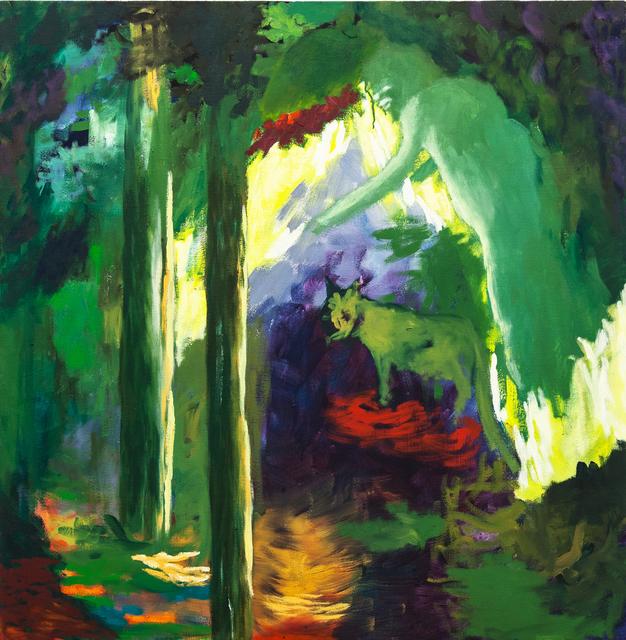 , 'Dans la Fôret (engl.: In the Forest),' 2017, DAS ESSZIMMER