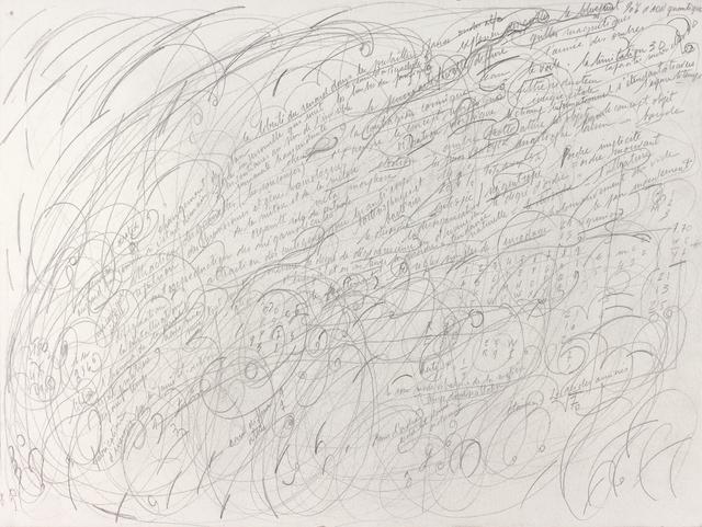 , 'le réseau informatif 6/10,' 2009, christian berst art brut