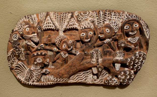 Papua New Guinea Tribal Art, 'Storyboard 5', 1960-1995, Etherton Gallery