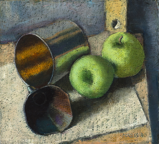 , 'Bodegon con Manzanas (Still-life with Apples),' 1980, Latin American Masters