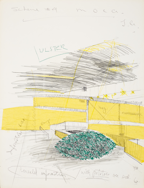 , 'Untitled (Scheme #4 M.O.C.A. L.A.),' 1988, The 500 Capp Street Foundation