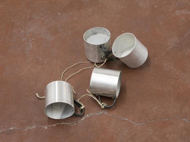 , 'Untitled (cups),' 2017, Dvir Gallery