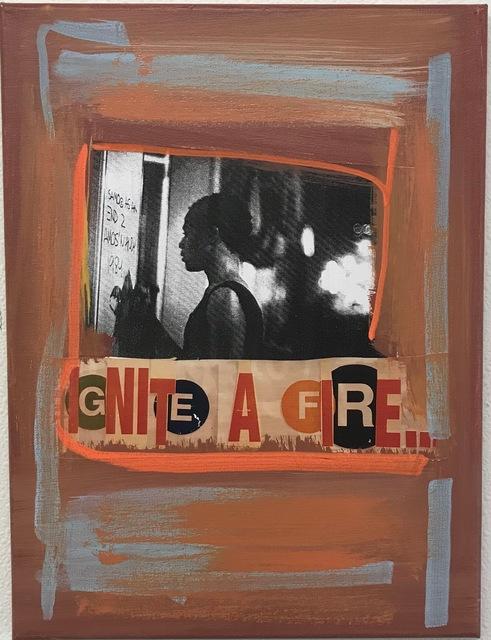 , 'Ignite a Fire,' 2018, Winston Contemporary Art