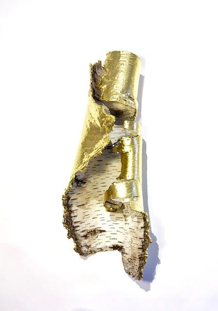 , 'Birch Bark Icon (Gold),' 2016, Sunne Savage Gallery
