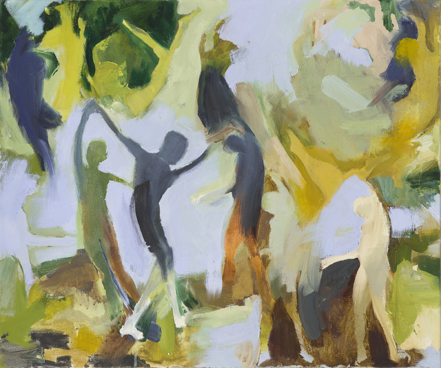 Iwalani Kaluhiokalani, 'The Mending (Them Ending)', 2020, Painting, Oil on canvas, Galatea Fine Art