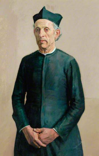 , 'The Village Priest,' ca. 1925, Ben Uri Gallery and Museum