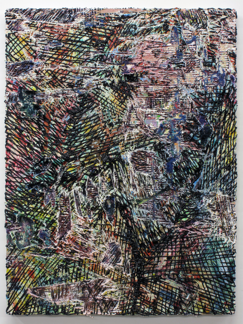 , 'Cutpainting 60,' 2014, Sultana