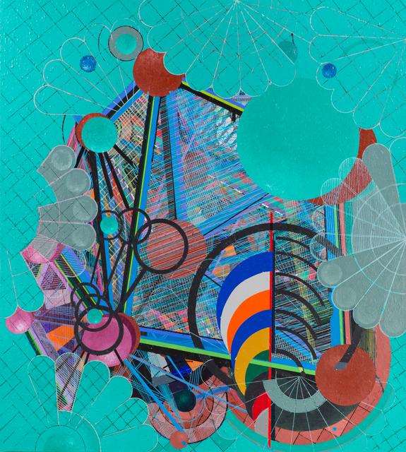 , 'Galactic Journal: Antibes Vert (aka School Colors #2),' 2004, Pilar Corrias Gallery