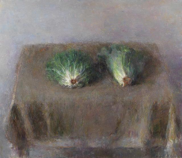 , 'Les deux laitues vues de face,' 2013, Galerie Koch