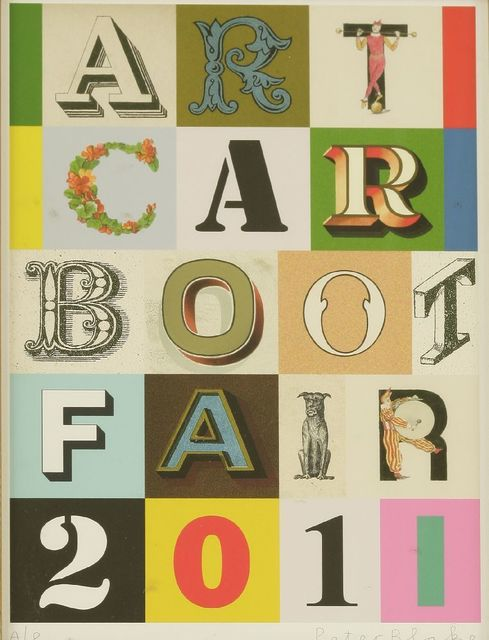 Peter Blake, 'Art Car Boot 2011', 2011, Sworders