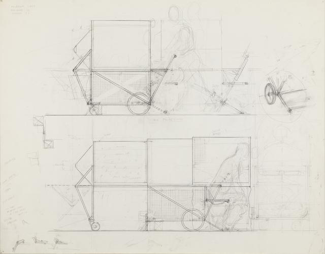 , 'Homeless Vehicle,' 1988, Galerie Lelong & Co.