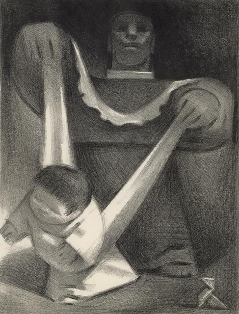 , 'First Steps,' 1946, Stone + Press Gallery